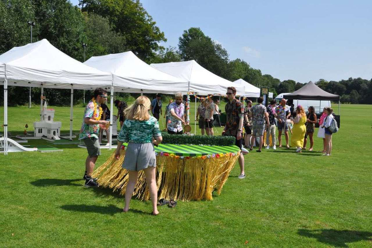 Corporate Event Entertainment mobile crazy golf