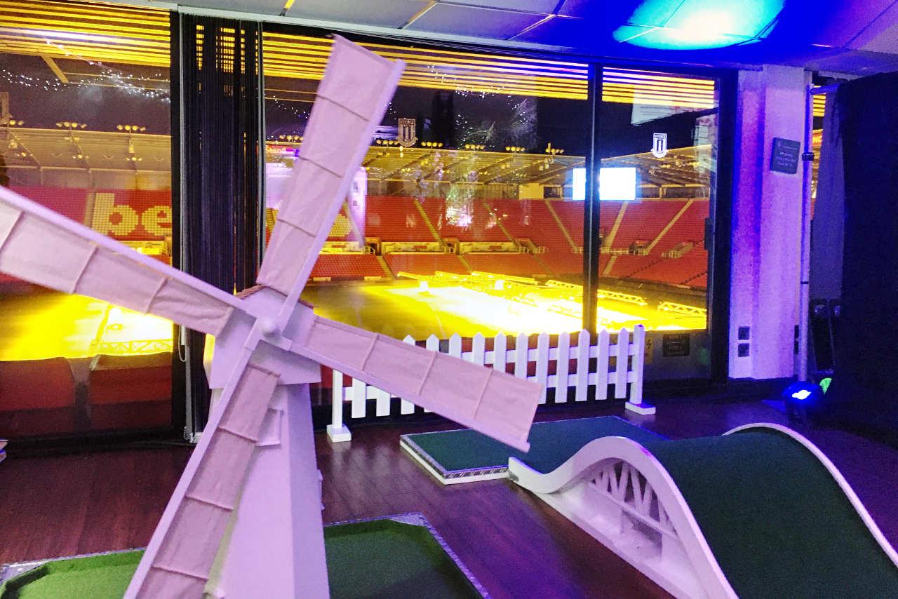 Indoor Corporate Crazy Golf - Michelin Tyres - BET365 Stadium