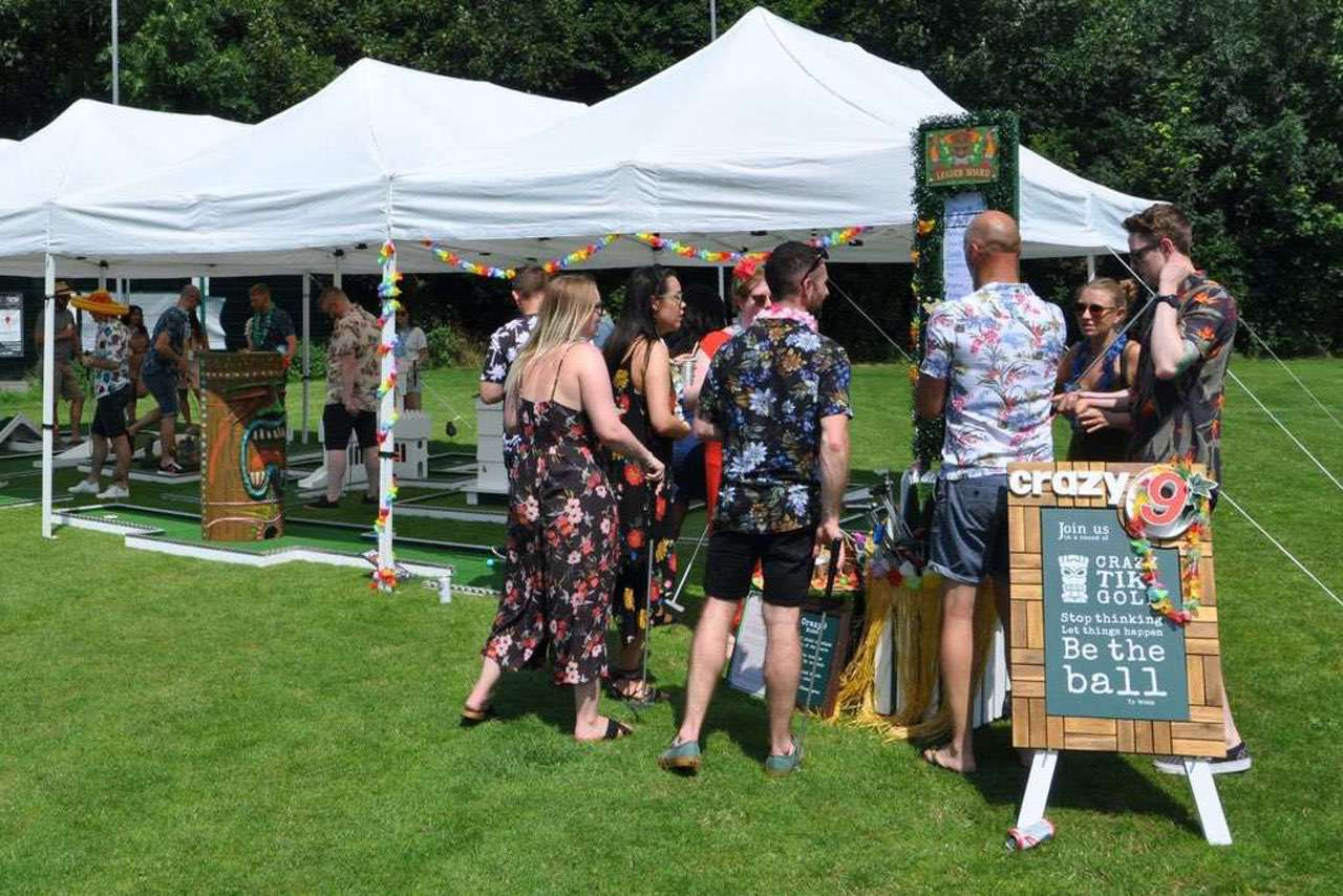 Interactive Entertainment For Corporate Events - Mobile Crazy Golf
