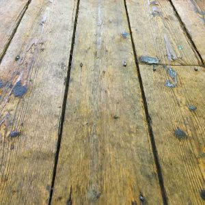 Mobile Crazy Golf Ground Requirements - wood floor