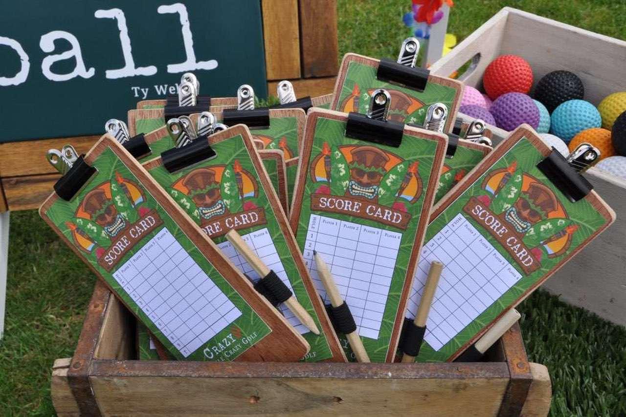 custom mobile crazy golf score cards