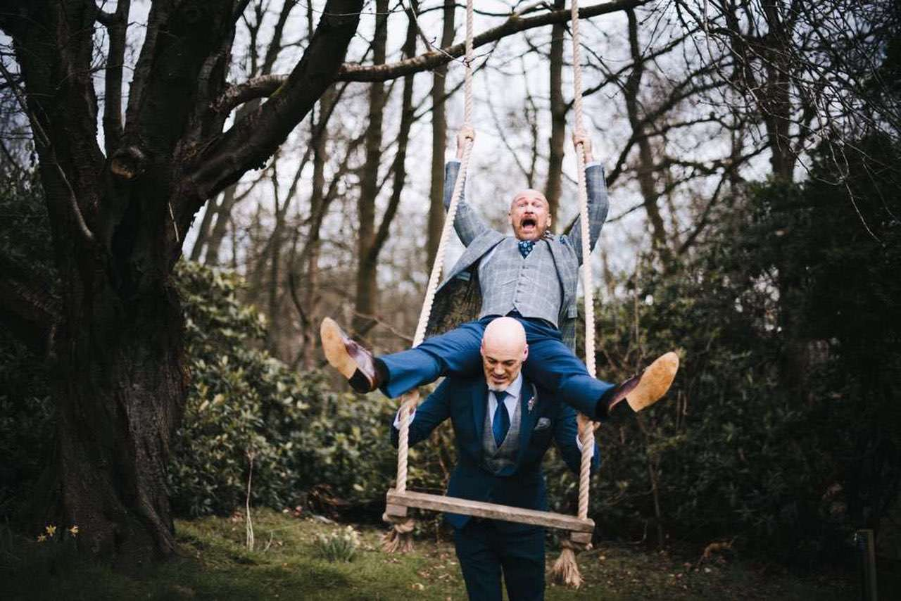 same-sex wedding ideas - delamere manor events gay wedding