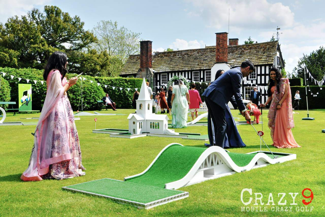 gawsworth hall wedding venue mobile crazy golf bumpy road