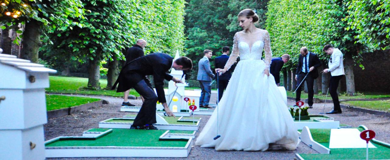 Mobile Crazy Golf Wedding Entertainment