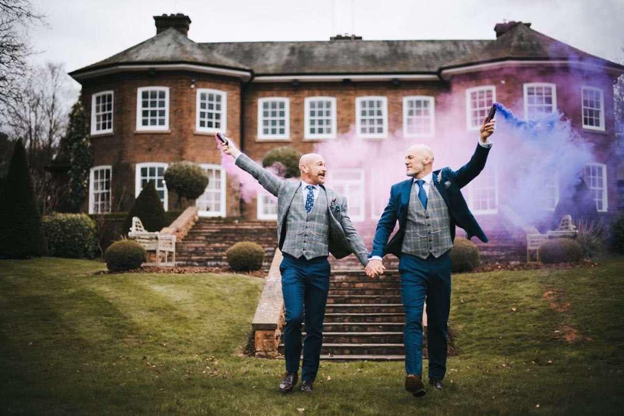 same-sex wedding ideas - Photography Gareth Roy Photography