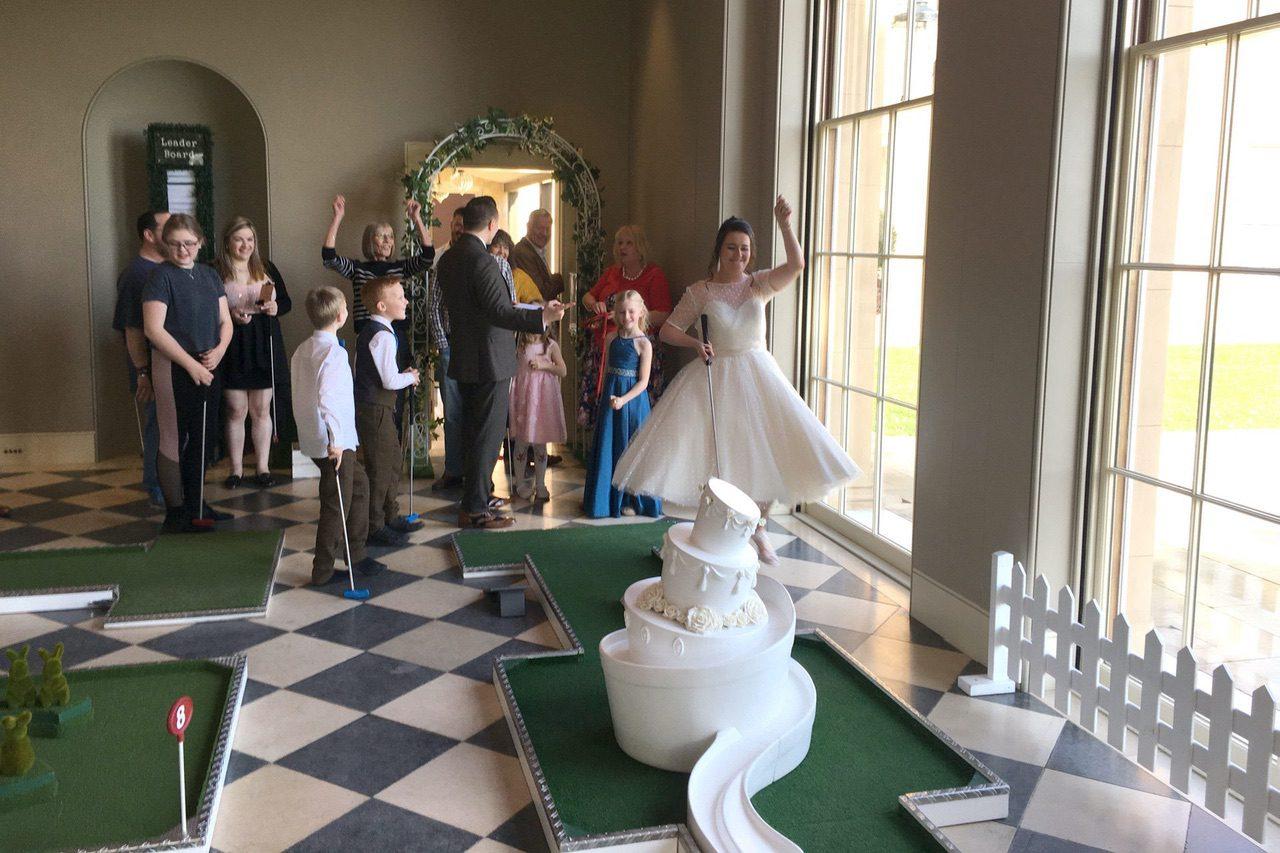 Sibton Park Wedding Mobile Mini Golf