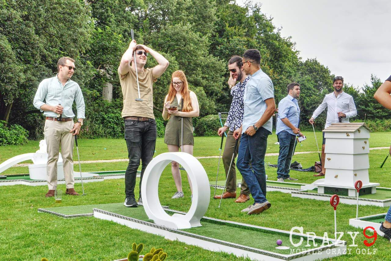 somerford hall wedding venue mobile crazy golf going loopy