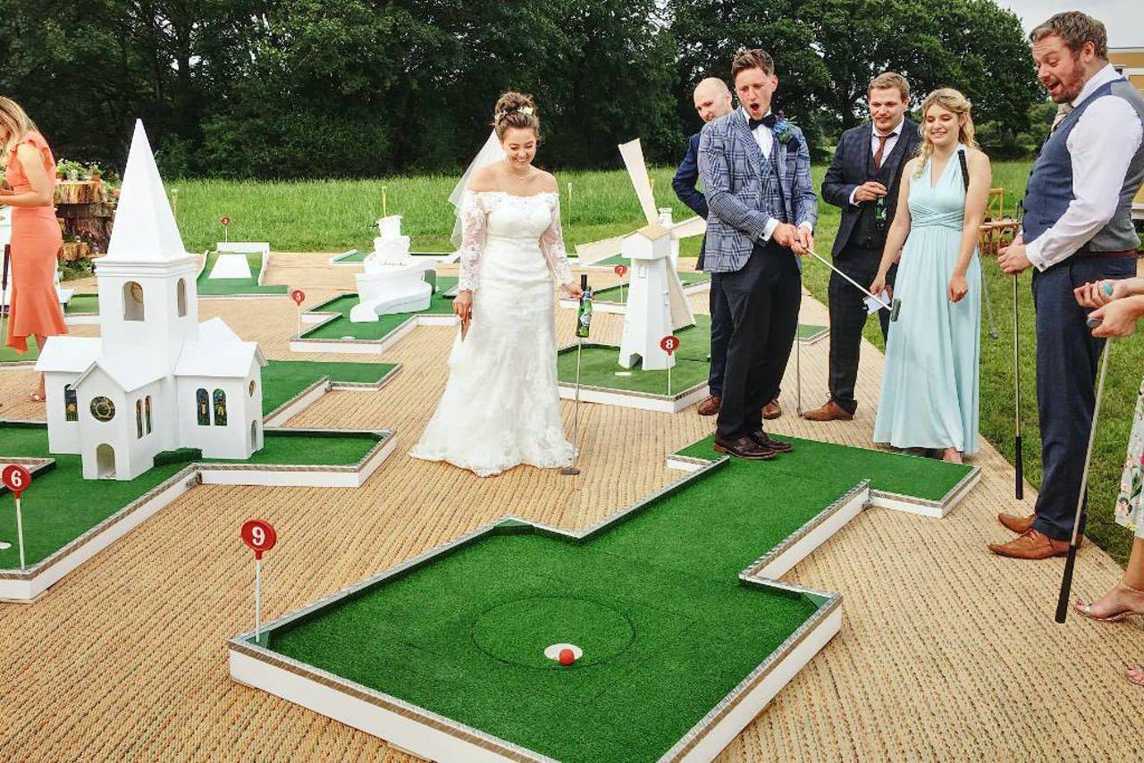 wedding crazy golf crazy susan
